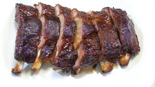 Easy Smoked Baby Back Ribs! - Red Box Smoker - The Wolfe Pit
