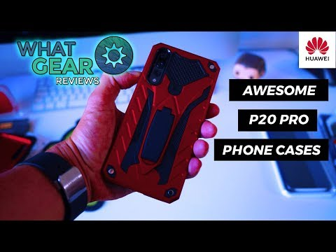 Huawei P20 Pro Phone Case - Official Smart View Flip Case 🔥🔥🔥