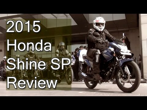 2015 honda cb shine sp review with test ride report youtube