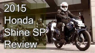 2015 Honda CB Shine SP Review With Test Ride Report
