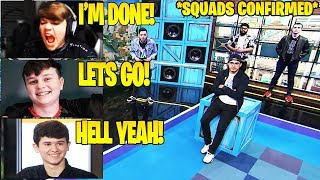 Streamers React To *COMPETITIVE SQUADS* Confirmed By Epic Games!