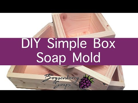 How To Make A Soap Mold For Less Than 10 Youtube