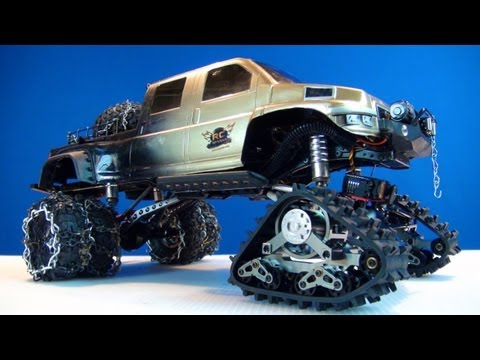 RC ADVENTURES - RC4WD EVO Predator Tracks & PROJECT OVERKiLL?!  AWESOME!