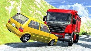 Realistic High Speed Crashes #41 - BeamNG Drive | CrashBoomPunk