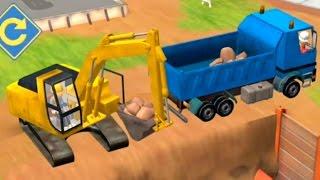 Мультики про рабочие машины на стройке