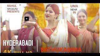 Gambar cover HYDERABADI BATHUKAMMA || MUSIC VIDEO || UMA NEHA || RAHUL SIPLIGUNJ  DJ CK
