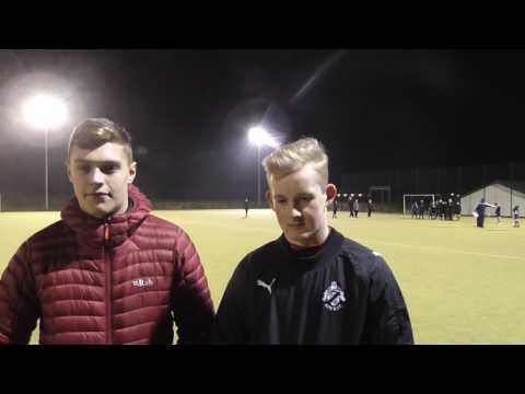 Ayr-Wellington U16s and U18s captains