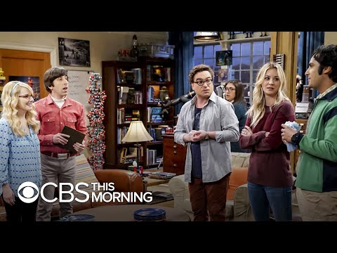 """Kaley Cuoco and Johnny Galecki on """"bittersweet"""" end of """"Big Bang Theory"""""""