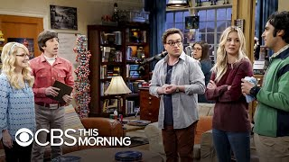 "Kaley Cuoco and Johnny Galecki on ""bittersweet"" end of ""Big Bang Theory"""