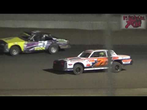 RPM Speedway 2017 Sunflower Classic - IMCA Hobbystock A Feature 3-24-17