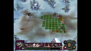 Heroes of Might & Magic V Hammers of Fate ending battle