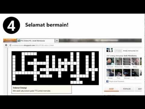 Teka-Teki Silang Online Andi Mendunia