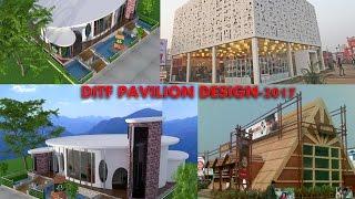 ditf 2017 pavilion design formal informar