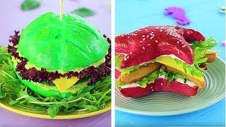 10 ERSTAUNLICHES MEERJUNGFRAUEN FAST FOOD REZEPTE vs FEE FAST FOOD!
