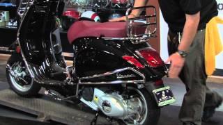 Vespa Primavera 150 with Faco Accessories !