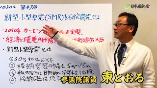 2021 03 04  新型小型原発(SMR)を研究開発せよ ・2050年カーボンニュートラルを実現 ・経済と環境の好循環のための産業政策が必要 東徹(日本維新の会)