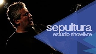 "Sepultura em ""Slave new world"" no Estúdio Showlivre 2013"