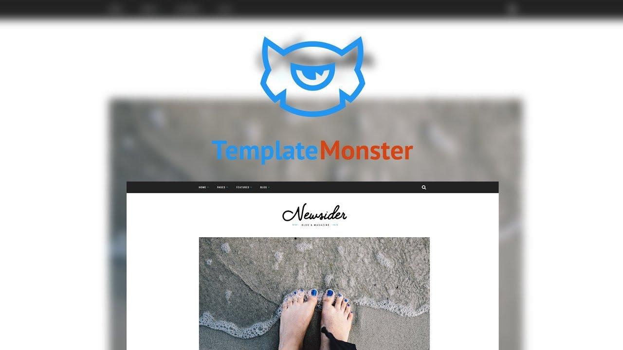 Newsider - Magazine & Blog Clean WordPress Theme #64701 - YouTube