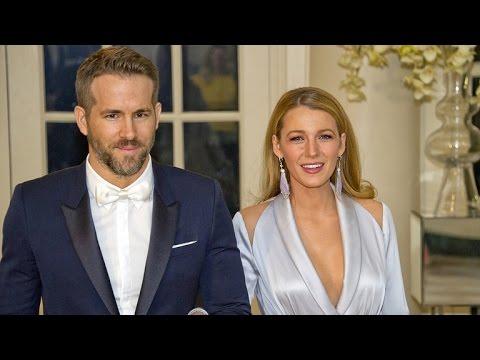 Blake Lively and Ryan Reynolds Stun at White House State Dinner