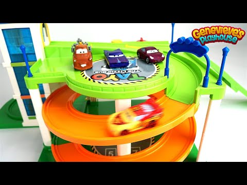 Thumbnail: Best Toy Car Learning Video for Kids Disney Cars Color Changing Lightning McQueen & Monster Trucks
