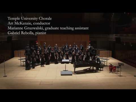 April 4, 2015 Temple University Choirs