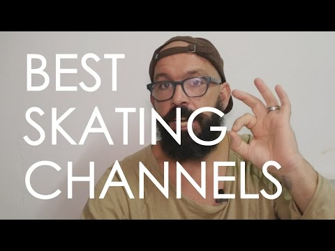 TOP 8 YOUTUBE SKATING CHANNELS // ROLLER-SKATING AND INLINE SKATING // VLOG 78