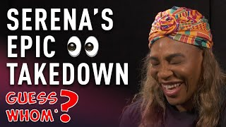 Serena Williams Guess Whom?* - Australian open | Wide World of Sports