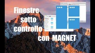 "Gambar cover Tutorial Mac #134 - Gestione Finestre facile con ""Magnet""!"