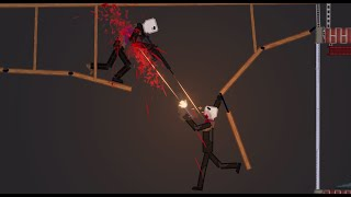 Humans Fight Each Other On Destructible Towers  N People Playground
