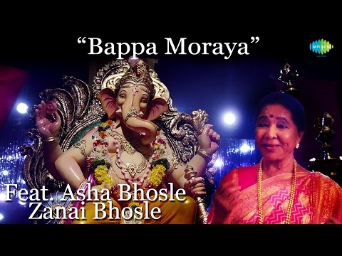 Mix - Bappa Moraya | Ganesh Chaturthi | Video Song | Asha Bhosle, Zanai Bhosle