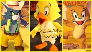 Том и Джерри фильм Игра для детей Том и Джерри Война игра смешно для детей ► War of the Whiskers