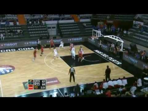 Puerto Rico Vs. Canada / 2011 FIBA Americas Championship Round 2