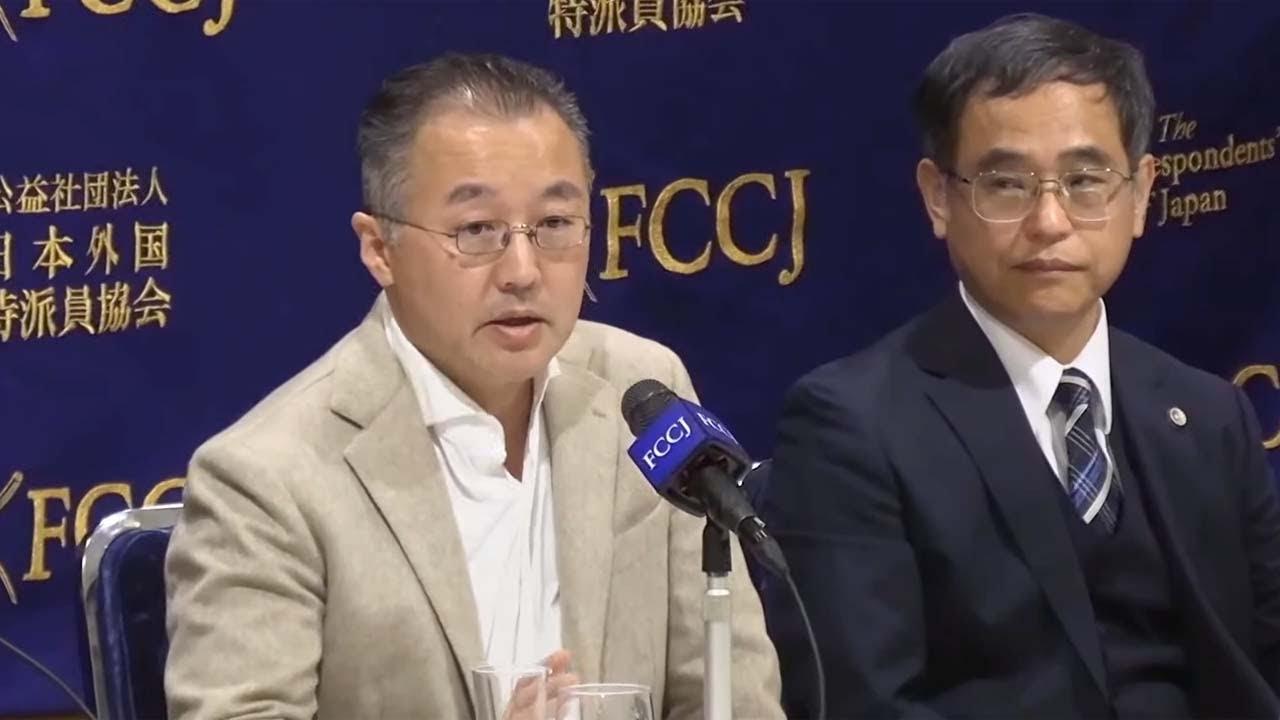 【ノーカット】元TBS記者 山口敬之氏が日本外国特派員協会で会見