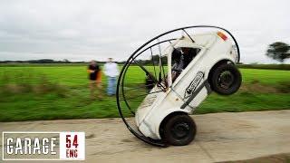 Rolling car! We met Milo