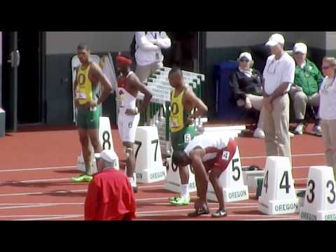 2013 Arkansas vs Oregon Dual - 100m