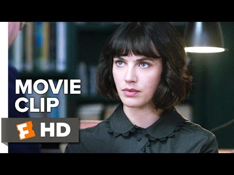 This Beautiful Fantastic Movie CLIP - The Library (2017) - Jessica Brown Findlay Movie