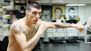 "JAY Z's Roc Nation Sports — ""Throne Boxing"" Media Workout: DUSTY HERNANDEZ-HARRISON (vs. T. Rainone)"