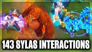 sylas mid gameplay
