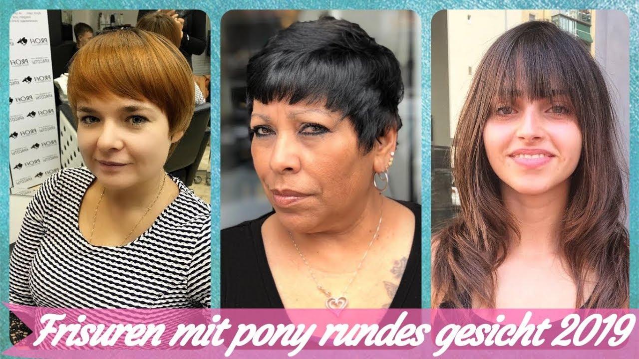 Die Fetzige 20 Ideen Zu Frisuren Mit Pony Rundes Gesicht 2019