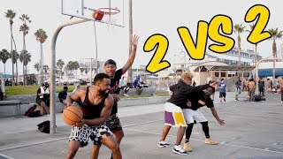 Cash & Mal vs UNDEFEATED Duke Dennis & ImDavisss 2vs2 Basketball