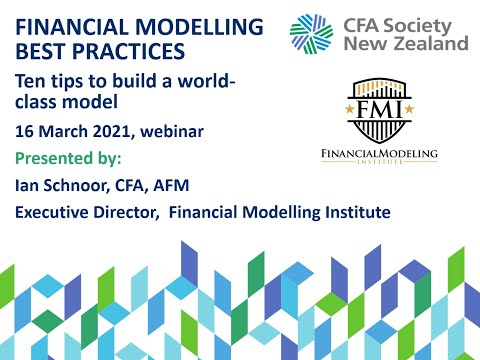 Financial Modelling Best Practices