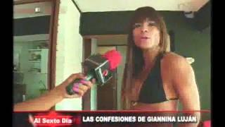 Repeat youtube video Las confesiones de Giannina Luján: a solas con una de las más deseadas (1/2)