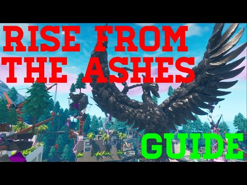 How To Complete Jesgran Deathrun Rise From The Ashes - Fortnite Creative Guide