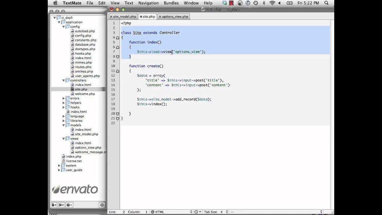 CodeIgniter From Scratch: Day 5 - CRUD
