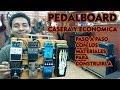 Pedal Board Casera facil de construir