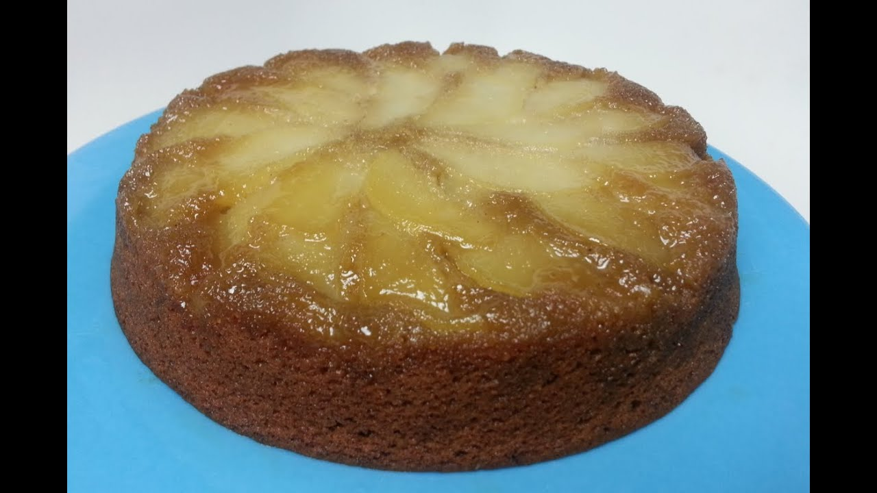 Peer Crumble How To Make An Upside Down Pear Cake