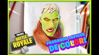 FIRST FORTNITE DRAWING - SKIN BRAINIAC ? Pasca illustrates