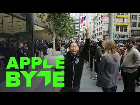 The Epic iPhone X Launch in San Francisco (Apple Byte)