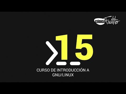 15.- Curso de introducción a GNU/Linux -  Crontab