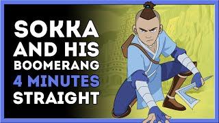 Sokka's Boomerang for 4 Minutes Straight